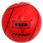 New Red Tether Ball for Play Grounds & Picnics with Rope