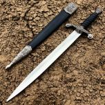 "13"" Stainless Steel Dagger with Sheath"