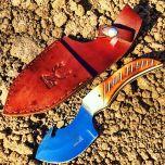 "7.5"" Skinner Knife Bone Handle Series Sharp Hunting Knife"