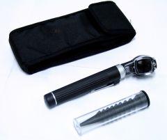 Fiber Optic Otoscope Mini Pocket Black Medical Ent Diagnostic Set