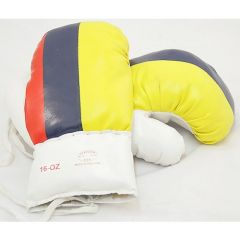 16oz Colombia Flag Boxing Gloves