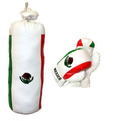 10oz Mexico Mini Punching Bag Set