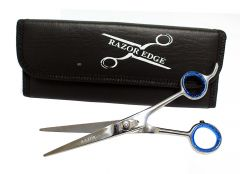 "Professional Hair Cutting Razor Edge 6.5"" Thinning Scissors"