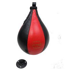 Last Punch Black & Red  Boxing Punching Speedball & Heavy Duty Bearing Steel Speedball Swivel