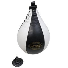 Last Punch Black & White Punching Speedball & Heavy Duty Bearing Steel Speedball Swivel