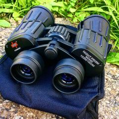 Perrini Black High Definition 60x50 Binocular With Carrying Case