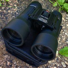 All Black Perrini 16x42 Compact Binocular 87m - 100m With Black Carrying Case