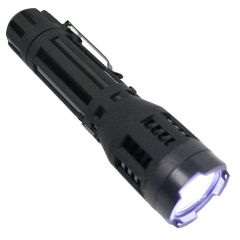 Defender Black Tactical 10 Million Flashlight Style LED Stun Gun