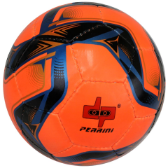 Perrini Soccer Ball Yellow/Black/Red All Weather Indoor Outdoor Official Size 5