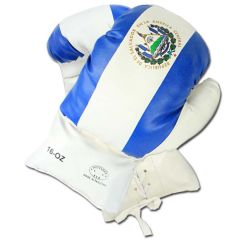 16oz El-Salvador Flag Boxing Gloves