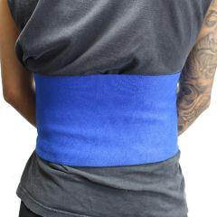 """Perrini 12"""" Blue Waist Slimmer Back Support Belt Tummy Belt Exercise Gym"""