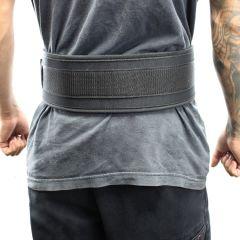 "Last Punch® 4"" Nylon Power Weight Lifting Belt / Back Support Belt Black"
