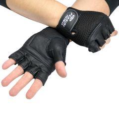 Leather Gloves Black Color