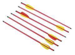 """20"""" Long Metal Hunting Arrows Aluminum Body 2219 Power"""
