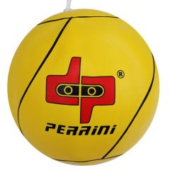 Defender Size-Seven Yellow Tether Ball with 11-Foot Nylon Rope