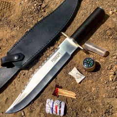 "15"" Survival Knife with Sheath"