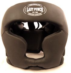 Black & Red Heavy Duty Boxing Head Gear