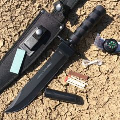 """14"""" Heavy Duty Stainless Steel Survival Knife with Sheath"""
