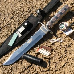 "14"" Wholesale Survival Knife with Sheath Heavy Duty"