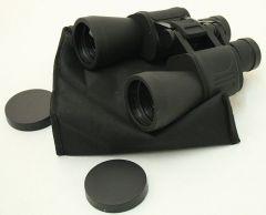 10X60 Zoom Perrini Optic Black Binocular