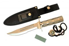 "10.5"" Stainless Steel Blade Survival Knive with Sheath Heavy Duty"