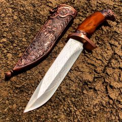 "11"" Dagger with Sheath Copper Color & Eagle Design"