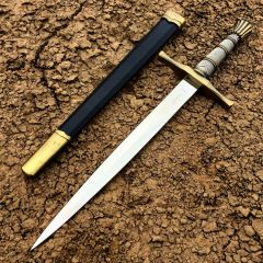 "15.5"" Dagger Stainless Steel Collectible Style with Sheath"