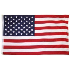 3X5 Ft Cotton USA Flag indoor Outdoor