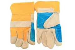 Cowhide Leather Safety Protective Gloves Industrial Work Labor Protection Glove
