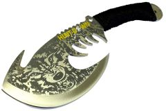 "11.5"" Hunt-Down Wolf Axe Stainless Steel Blade Collectible"