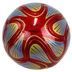 Perrini Official Size 5 Soccer Ball Red