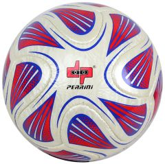 Perrini White/Red/Blue Soccer Ball Size 5