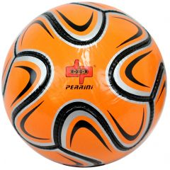 Perrini Match Ball Soccer Silver Orange Black Football Training Official Size 5