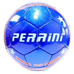 Perrini Indoor Outdoor Sports Blue with White Stars Soccer Ball Size 5