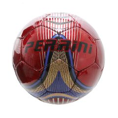 Perrini Red & Blue Indoor Outdoor Sports Soccer Ball Size 5