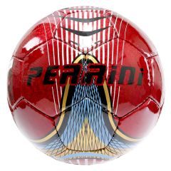 Perrini Indoor Outdoor Sports Red Gold Blue Soccer Ball Size 5