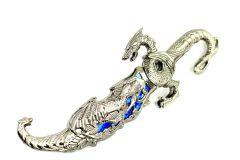"""10"""" Collectible Fantasy Blue Dragon Dagger"""
