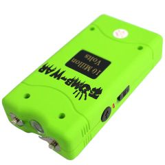 Zomb-War 10 Million Volt Green Stun Gun