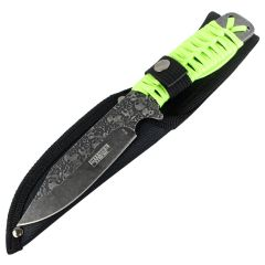 "Defender-Xtreme 9"" Full Tang Hunting Tactical Survival Stainless Steel Knife"