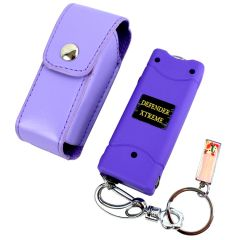 Defender-Xtreme 3 Million Volt Purple Flashlight Stun Gun
