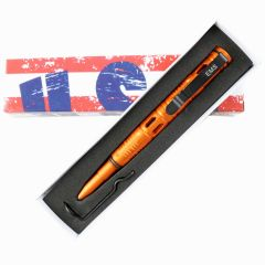 "Hunt-Down New 6"" Orange EMS Tactical Pen For Self Defence with Glass Breaker"