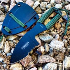 "Defender-Xtreme 5"" Hunting Outdoor Boot Knife Ridges on Blade with Sheath New"