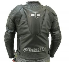 Motorcycle Racing Leather Jacket GP Armor Tornado Ce
