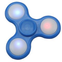 LED Fidget Spinner Tri-Spinner Stress Reducer Anxiety Toy For Kids & Adults