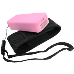 Defender Pink 5 Million Flashlight LED Stun Gun Safety Switch