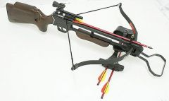 150 lbs Crossbow Laser +Scope + 8 Arrows crossbow