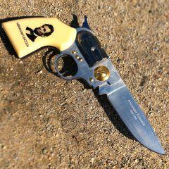 High Quality Defender Abraham Lincoln Gun Folding Knife