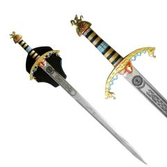 "Defender 45"" Steel King Richard The Lion Heart Sword"