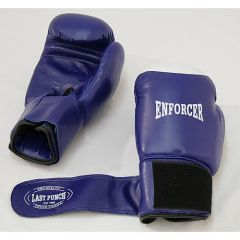 Blue 16 oz Adult size Heavy Duty Pro Boxing Gloves