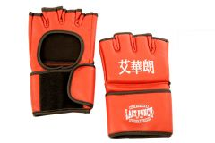 Red Grappling MMA Training Gloves UFC Style Gloves
